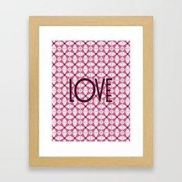 KaleidoLove Framed Art Print
