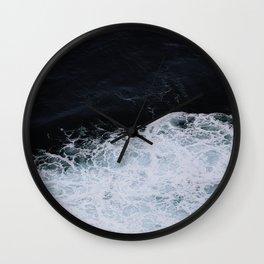 Paint like the Ocean Wall Clock
