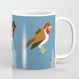 3 Robins Coffee Mug