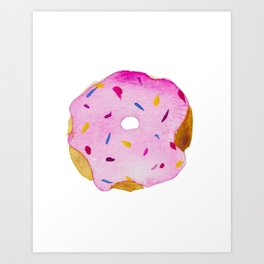 Strawberry Sprinkles Art Print