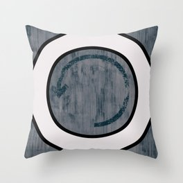 Fleche circle Throw Pillow
