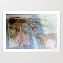 sun swirled smoke shine Art Print