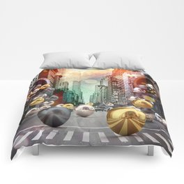New York City Spill Comforters
