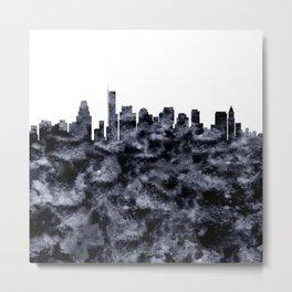 Boston Skyline Massachusetts Metal Print
