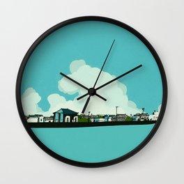 Walk along the sea Wall Clock