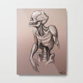 Zombie Imp Metal Print