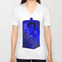 doctor who V-neck T-shirts featuring Doctor Who by Fimbis