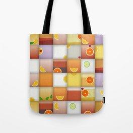 cocktail squares Tote Bag