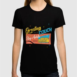 greetings from the couch T-shirt