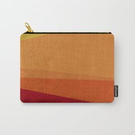 Stripe X Orange Peel Carry-All Pouch