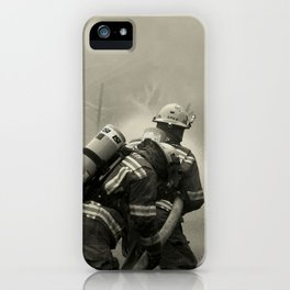 Fire Fighters iPhone Case