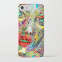 archan nair iPhone & iPod Cases featuring Ultraviolet Drops by Archan Nair