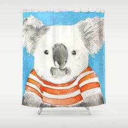 Bruce The Koala Shower Curtain