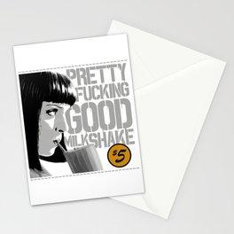 Pretty fucking good milkshake Stationery Cards