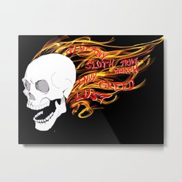 Spirit of Vengeance Metal Print