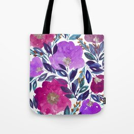hand painted flowers_2 Tote Bag