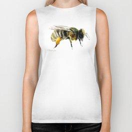 Bee, bee design honey bee, honey making Biker Tank