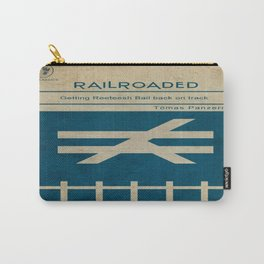 Railroaded Carry-All Pouch