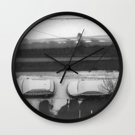 341_Parked Wall Clock
