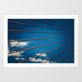 Bridge in Da Nang Art Print