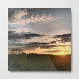 Another Tennessee sunset Metal Print
