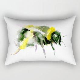 Bumblebee minimalist bee decor Rectangular Pillow