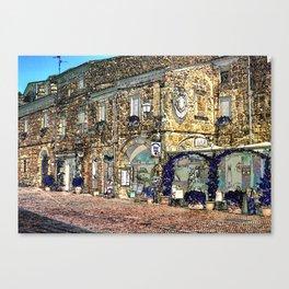 Sovana Canvas Print