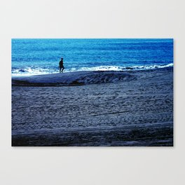 New world to conquer Canvas Print