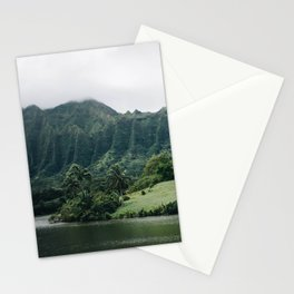 Tropical Mountain - Hawaii Stationery Cards