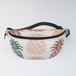 Retro Mid Century Modern Pineapple Pattern 477 Fanny Pack