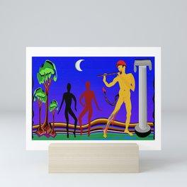 Pan By Moonlight Mini Art Print