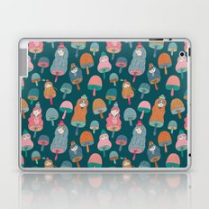 Pattern Project #49 / Mushroom Girls Laptop & iPad Skin