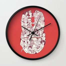 Adulthood - Mashup Wall Clock