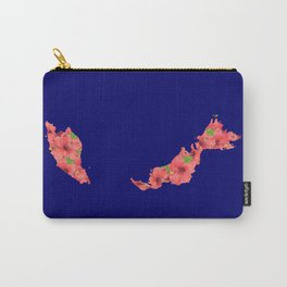 Malaysia in Flowers Carry-All Pouch
