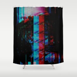 Face of a thousand Voices Shower Curtain