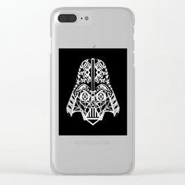 Mr. Darth Clear iPhone Case