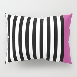 Liquorice allsorts, dark pink Pillow Sham