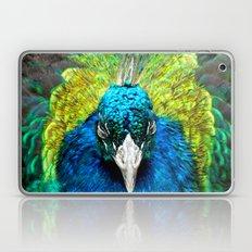 Sleepy Peacock Laptop & iPad Skin