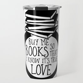 Bookish Engagment Travel Mug