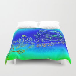 Life in the Ocean Duvet Cover