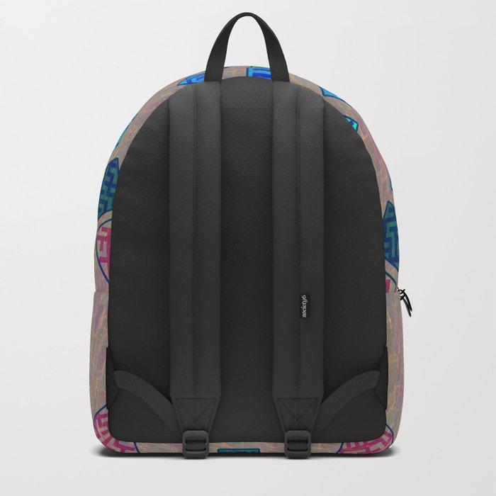 Ethnic wheel Backpack