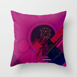 Occult Medical Treatment Throw Pillow