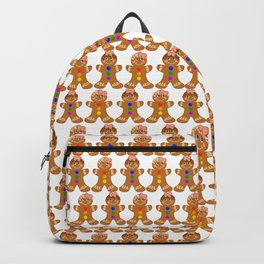 Gingerbread Couple 2 Girl Girl Backpack