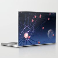 hydra Laptop & iPad Skins featuring Celestial Hydra by Ann Garrett