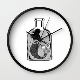 Wish I could be part of your world Wall Clock