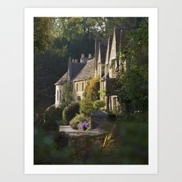 Not the manor Art Print