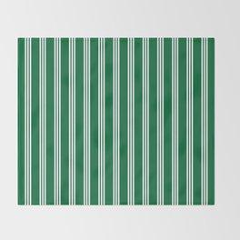 vertical parallel lines Throw Blanket
