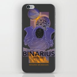 BINARIUS EPISODE I -- COVER iPhone Skin