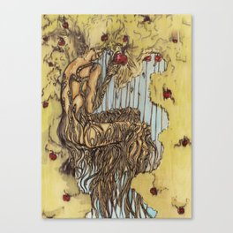 Her Rooted Soul Canvas Print
