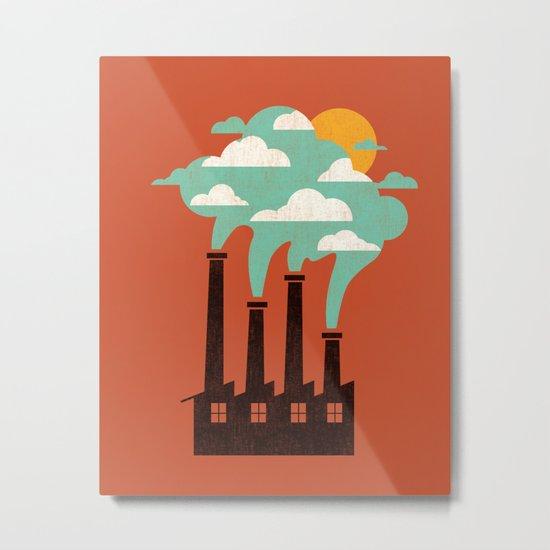 The Cloud Factory Metal Print